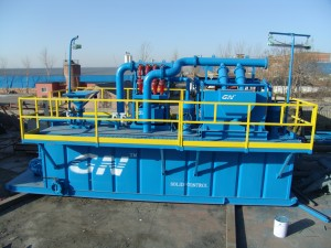 Skid mounted Mud  Recycling