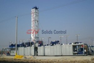 GN 1000 HP rig mud system for Turkey