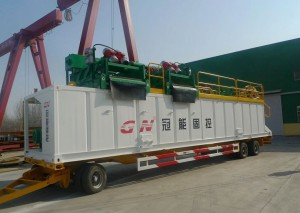 500gpm mud cleaing system for sale