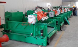 GNZS594 Shale shaker interchaneable with Swaco Mongoose
