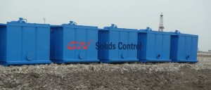 liquid mud plant tank system