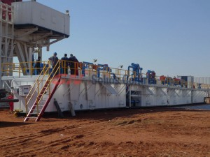 GN1500 HP rig Solids Control for Greatwall drilling