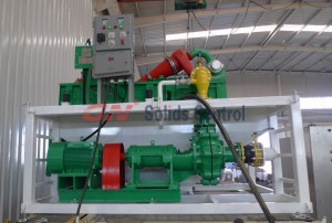 GND-120 mud recycling system for piling