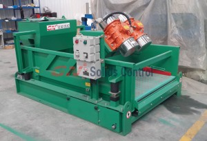 linear motion high G shale shaker