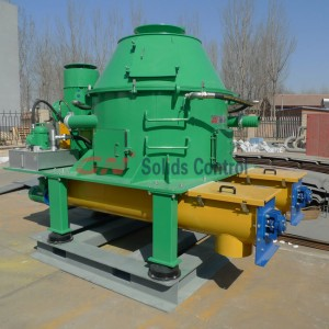 Drilling waste vertical cuttings dryer