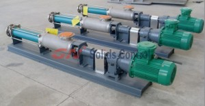 centrifuge feed pump - screw pump