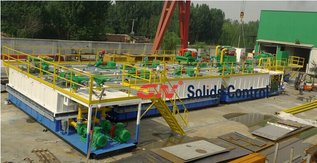 oil rig mud system