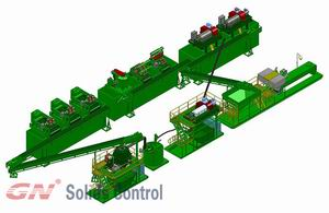 pitless drilling cuttings disposal system