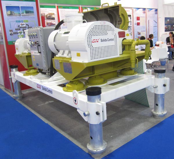 GN decanter centrifuge to ADIPEC