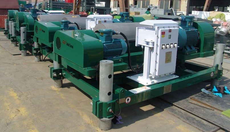 Waste Management Decanter Centrifuge