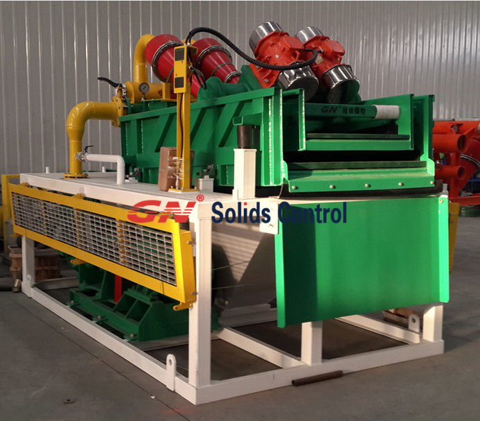Micro-tunneling slurry separation plant for recovery bentonite - GN