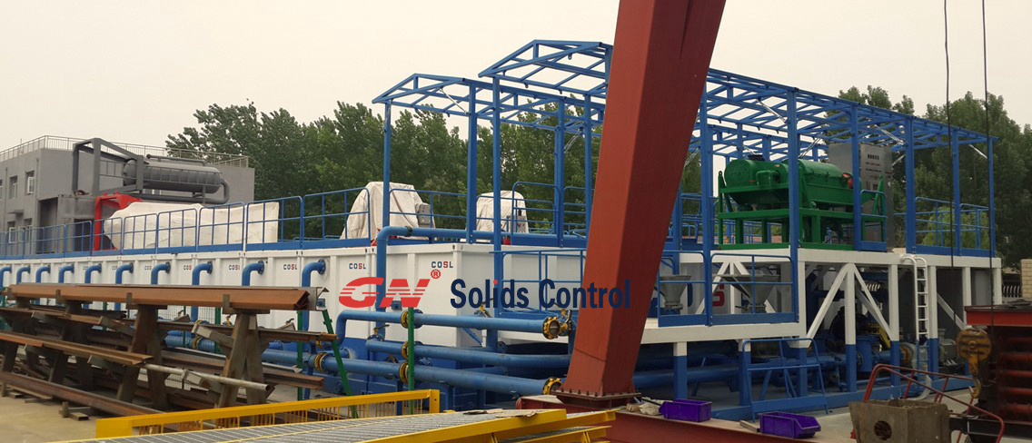 COSL Liquid Mud Plant