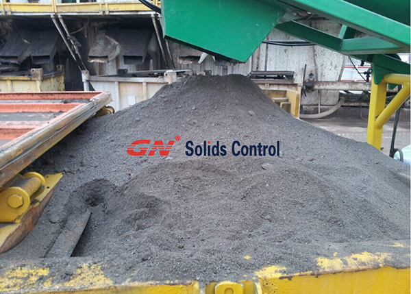 Solids Discharge From Dryer