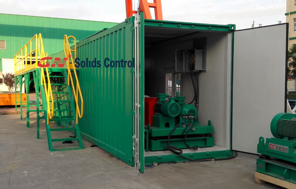 Containerized Drilling Waste Management