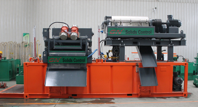 2015.11.16 GN mud system with shaker and centrifuge