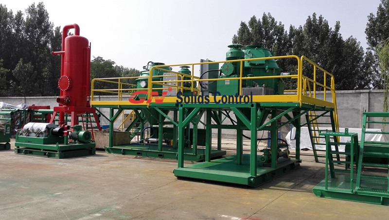 2015.7.23 vertical cuttings dryer