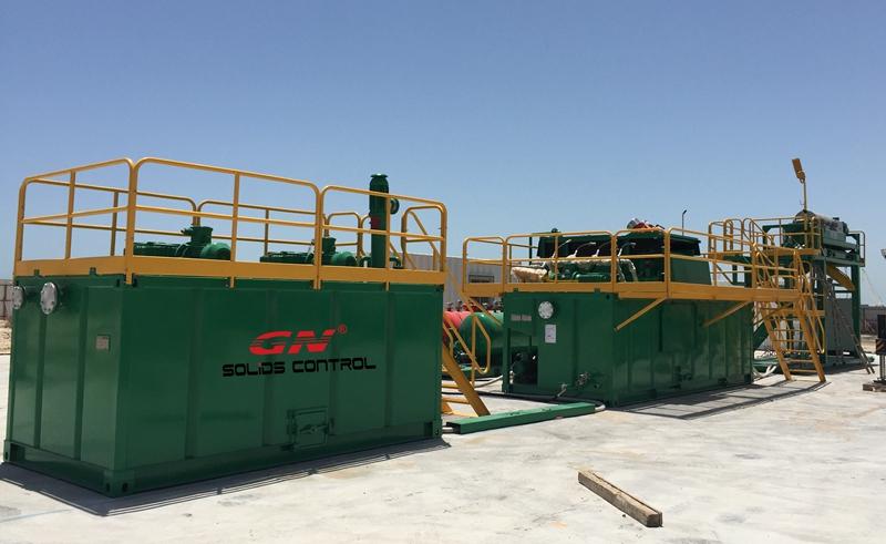 Equipo de procesamiento de líquidos viscosos de petróleo Finalización de la instalación en Medio Oriente