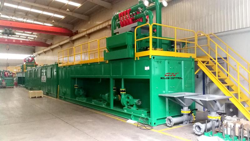 Reciclador de barro sin zanjas de 500 GPM para HDD Company en la India