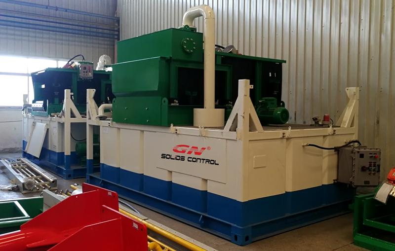 Agitador de secado GN High G y limpiador de lodo para proyectos en alta mar