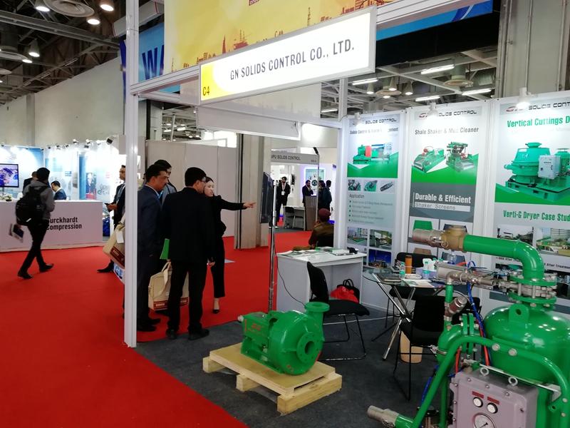 GN Solids Control asistió a Petrotech India Oil Show con gran éxito