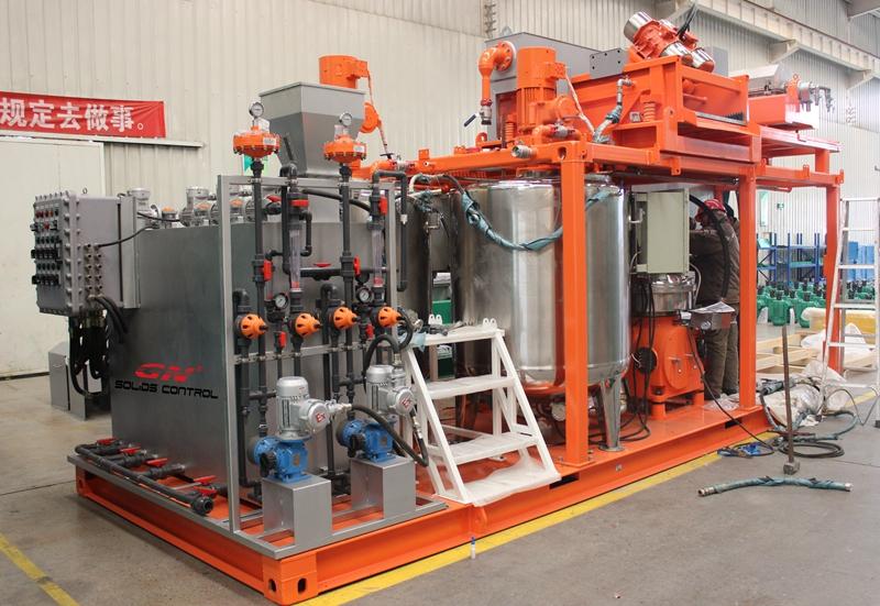 Planta de tratamiento de lodos de aceite para la compañía de soluciones ambientales de China