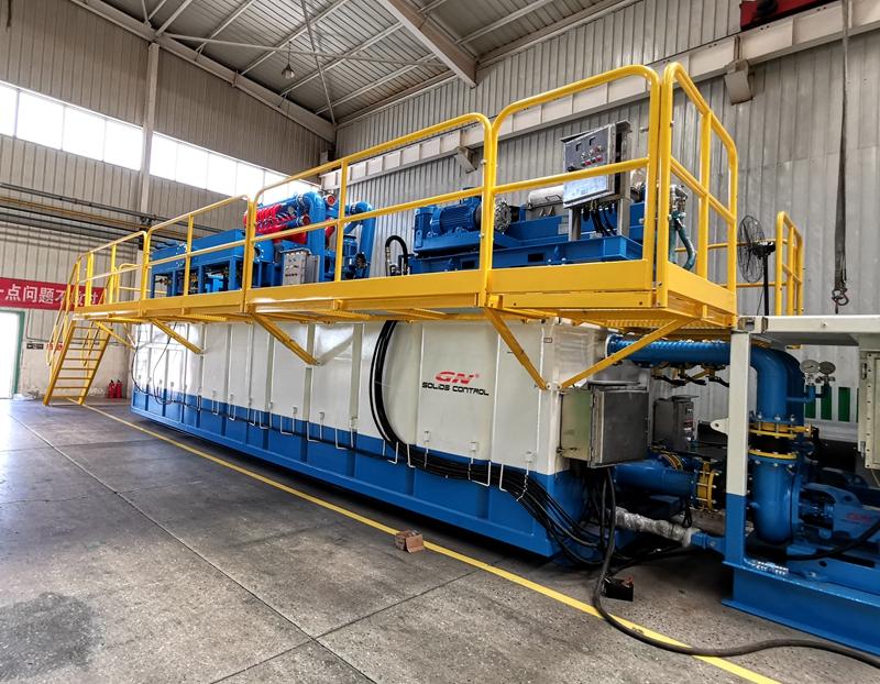 El sistema de tanque de lodo de perforación en alta mar estará listo para su envío
