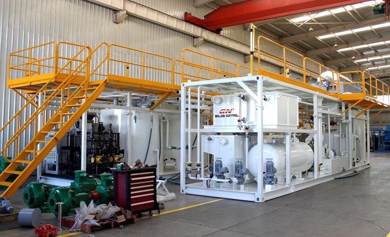 Planta de tratamiento de lodos de petróleo para Oilfield Environmental Solutions Company
