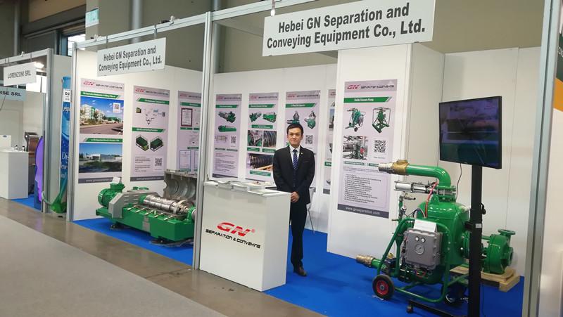 GN Separation Company asistió a la Exposición de Tecnología Verde Ecomondo Italia 2019