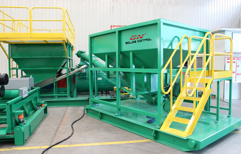gn cuttings solidification unit