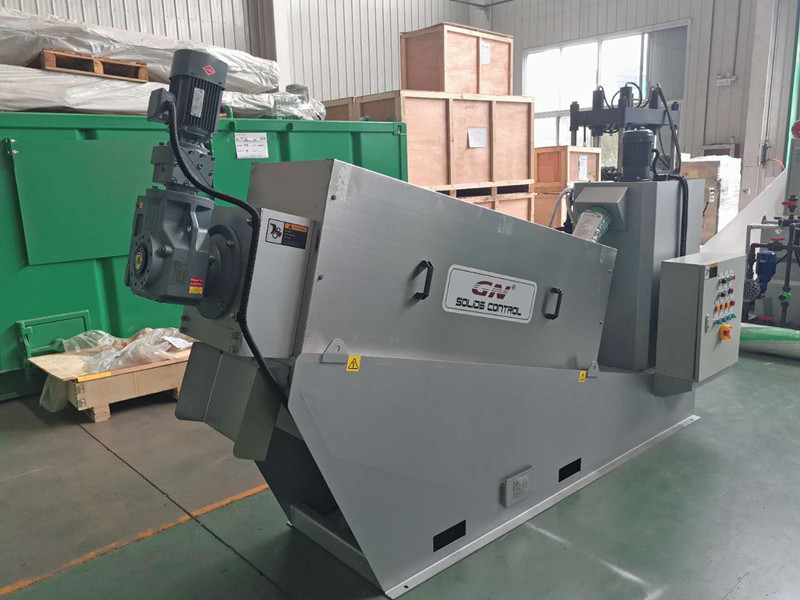 2020.09.10 screw press dewatering machine