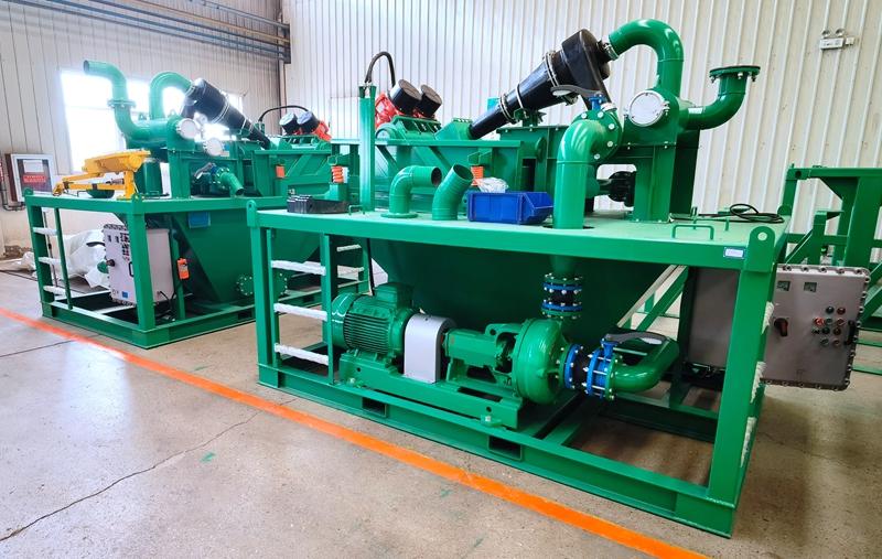 2021.10.18 Mud Recycling Unit