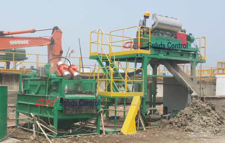 CNPC jobsite waste management centrifuge