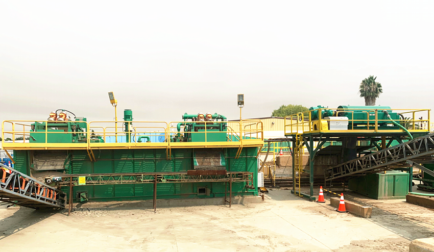 Construction Slurry Dewatering System Working in North America