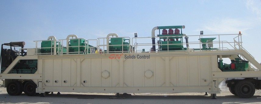 800GPM Mud Recycling System
