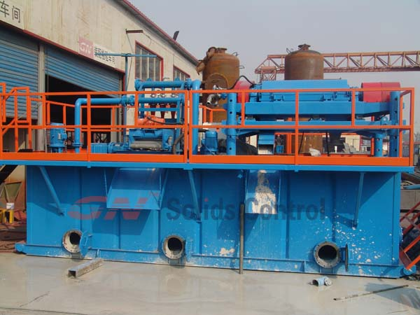 bentonite processing system to russia after testing