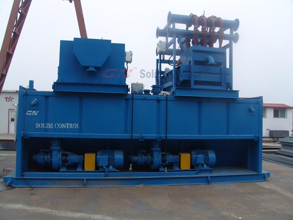 500gpm drilling fluids system