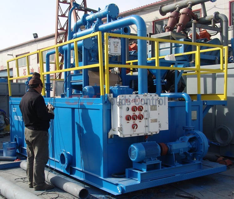 water well drilling mud reycling system