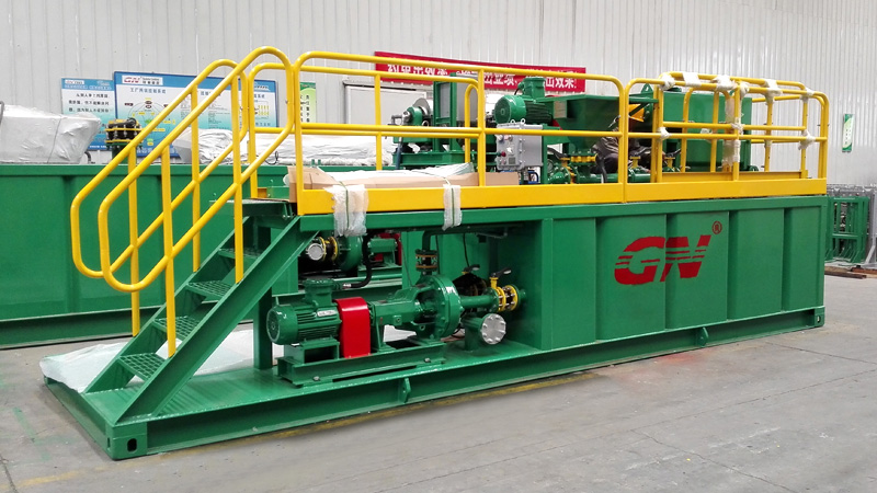 solids removal unit