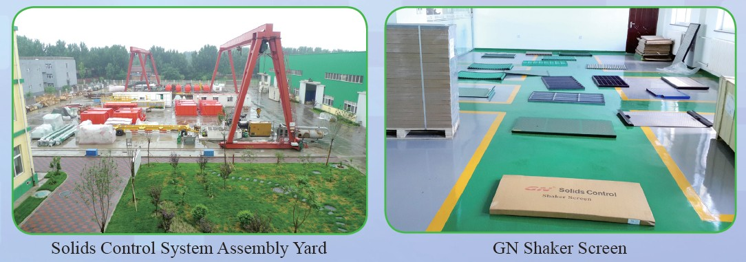 GN Sollids Control system assembly yard in China