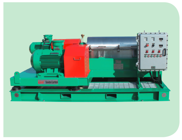Waste decanter centrifuge